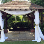Stylish Seating Gazebo