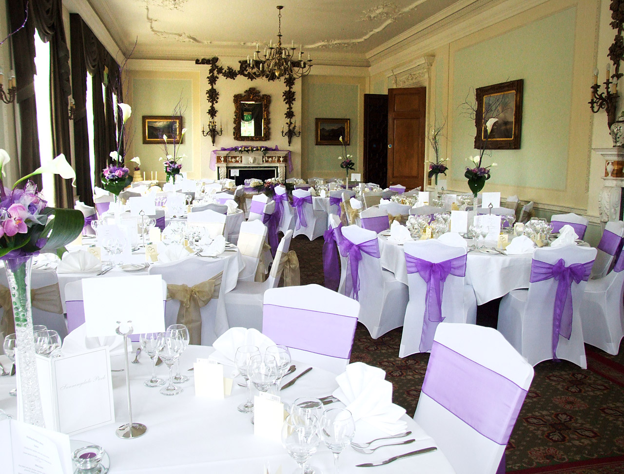 Stylish Seating Chair Covers and Sashes