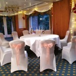 Stylish Seating Christmas Wedding
