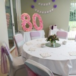 Stylish Seating Birthday Party 2017