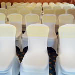 Stylish Seating Wedding Chair Covers and Sashes