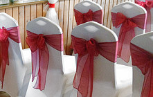 Stylish Seating Colourful Sashes