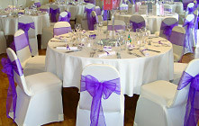 White Chair Covers for Wedding