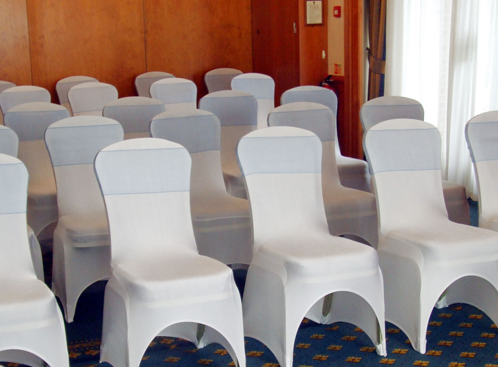 Stylish Seating Chair Covers and Sashes.